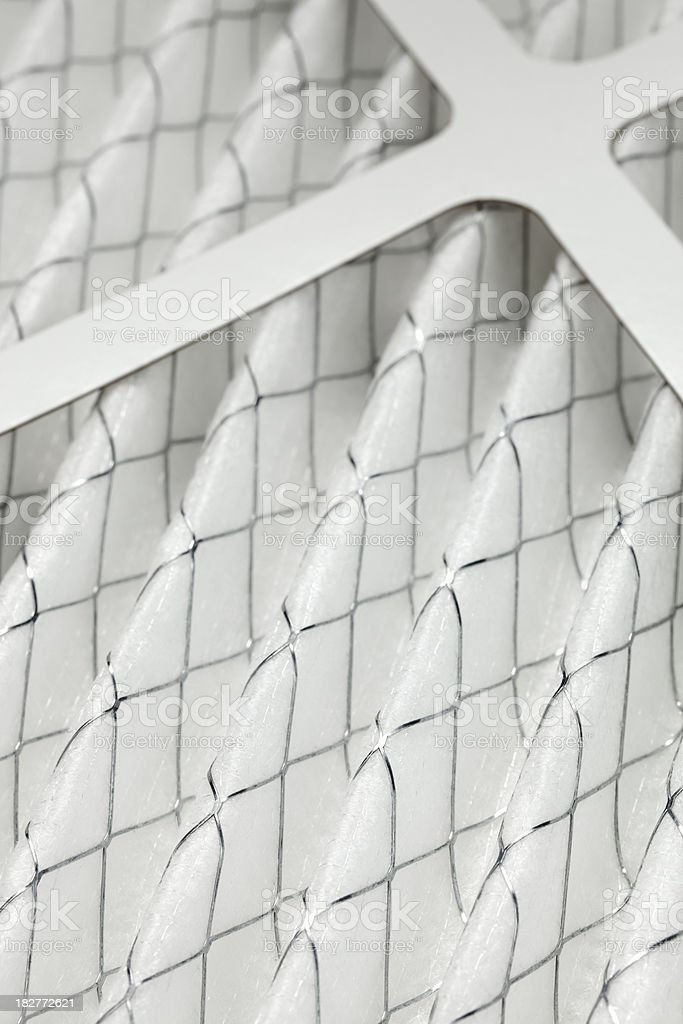 Furnace Filter Close-up stock photo