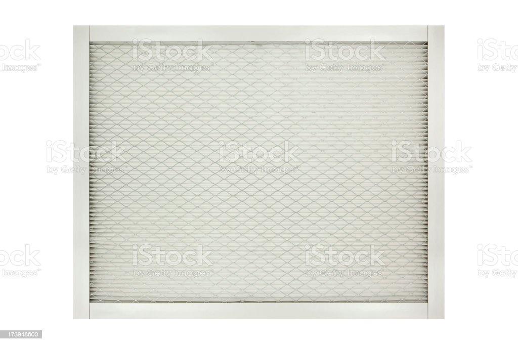 Furnace Filter stock photo