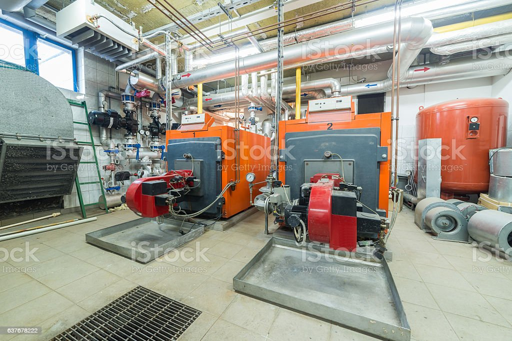 furnaces stock photo