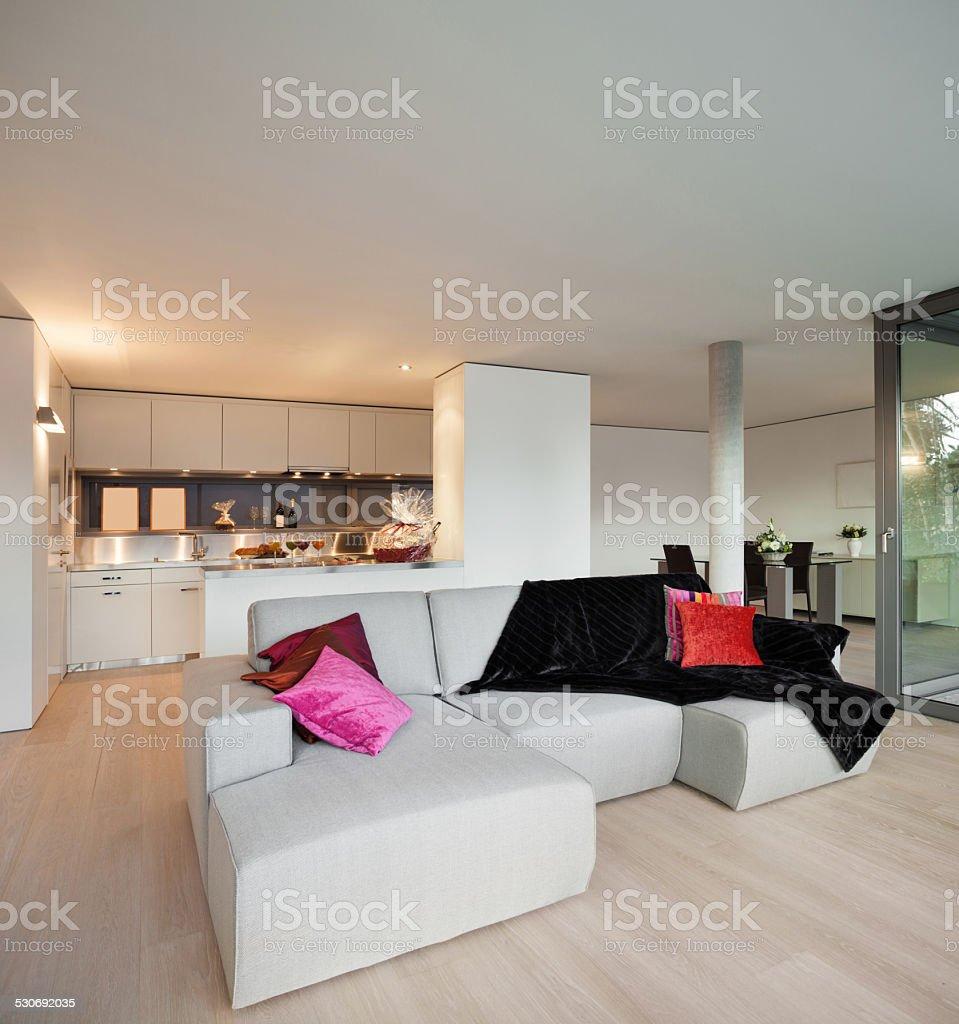 Image of: Decorado Con Vista A La Sala De Estar Del Apartamento Foto De Stock Y Mas Banco De Imagenes De Abierto Istock