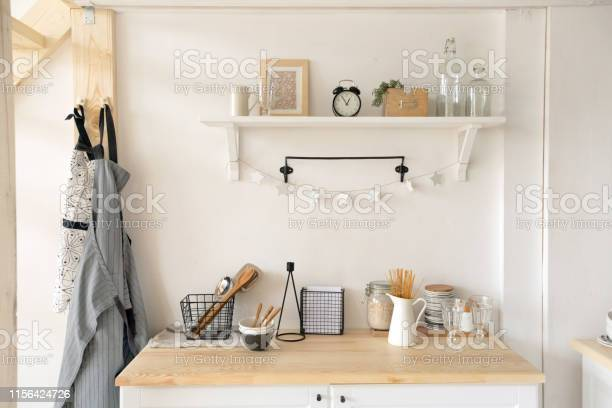 Furniture and dishware in kitchen picture id1156424726?b=1&k=6&m=1156424726&s=612x612&h=xguvcpsrjwouepth7l ajafe928f nmkqskfi a3njw=