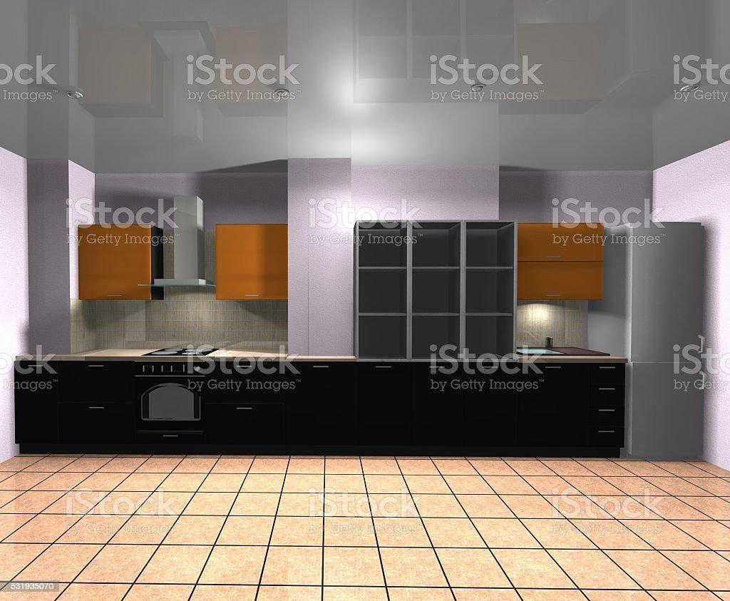De Diseño De Muebles Cocina Imagen 3d Foto de stock y más ...