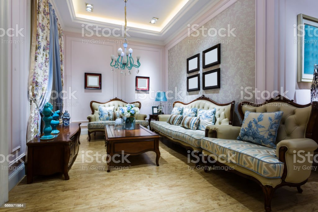 Furniture display, stock photo