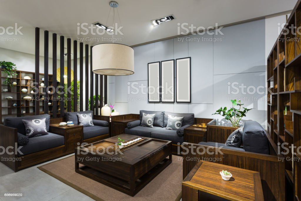 Furniture environment stock photo