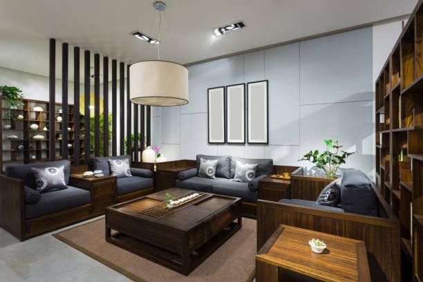 Furniture environment stock photo