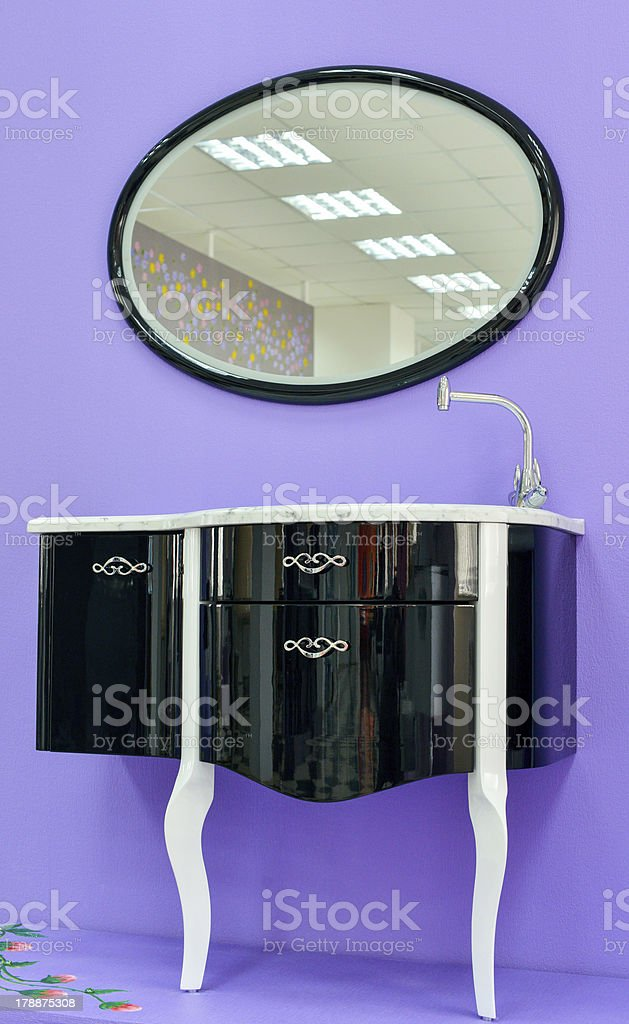 furniture for toilet room royalty-free stock photo