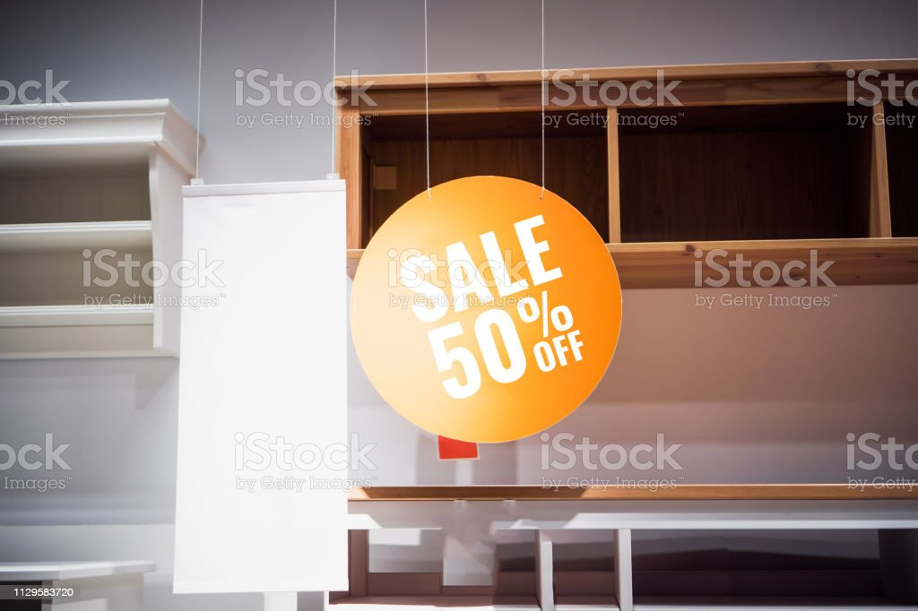 Furniture Home Sale 50 Off White Mockup Paper Frame Posters ... on farmers furniture sales paper, big lots sale paper, badcock furniture sales paper,