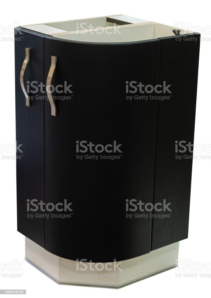 Armario Muebles De La Cocina Del Módulo En Un Aislado Fondo