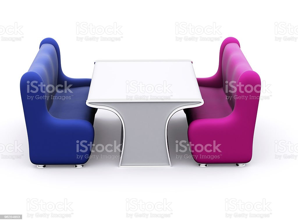 furniture - Royalty-free Blue Stock Photo