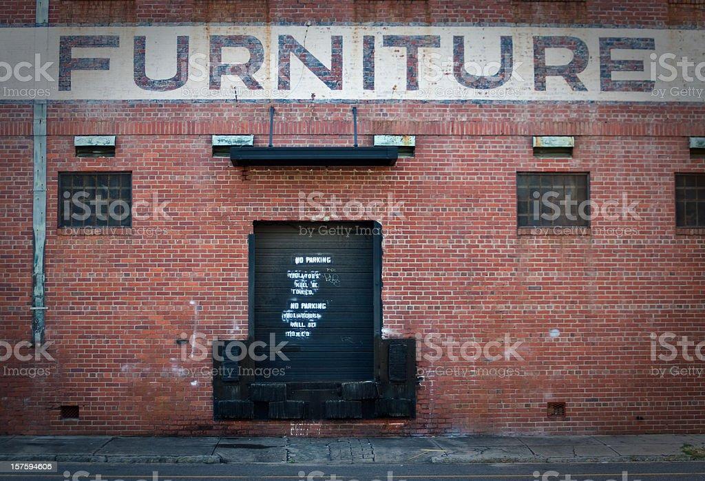 Furniture Warehouse stock photo