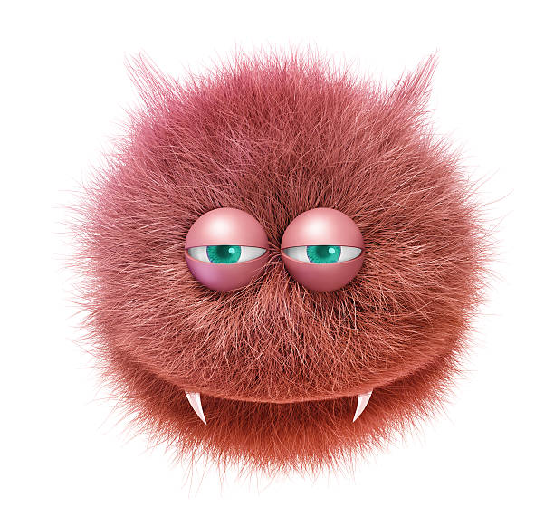 mascota gracioso diablo - monstruo fotografías e imágenes de stock