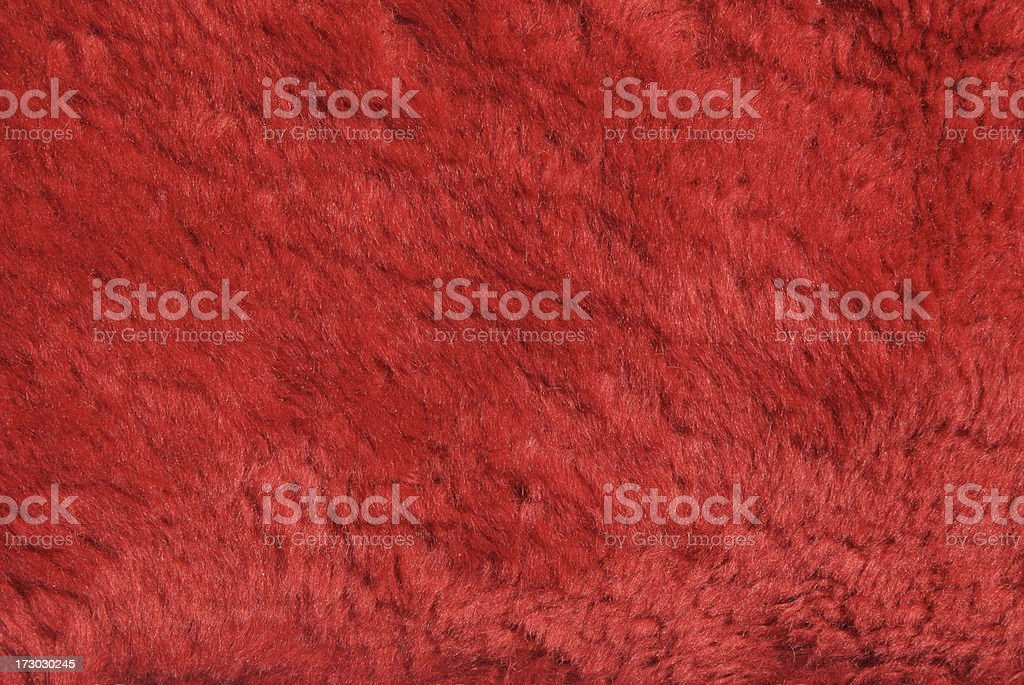 Furry Red Background Abstract Close Up royalty-free stock photo