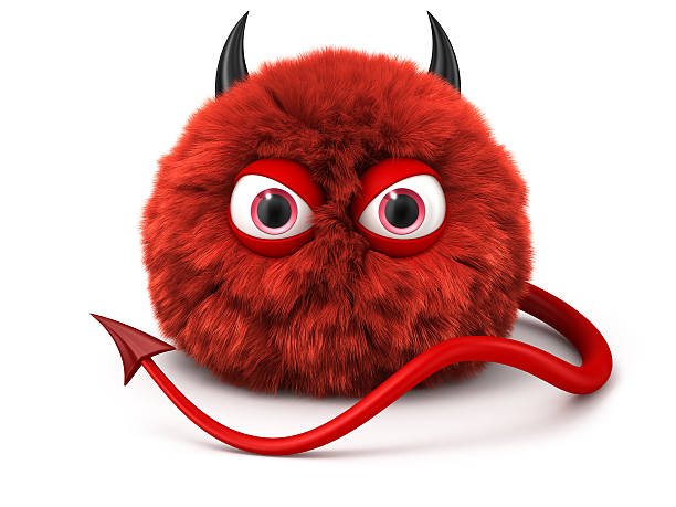 Furry red devil with tail and horns isolated on white picture id462867721?b=1&k=6&m=462867721&s=612x612&w=0&h=eu4lzr6wac1 g wccti dwn zmssb2xr46stzmrx68o=