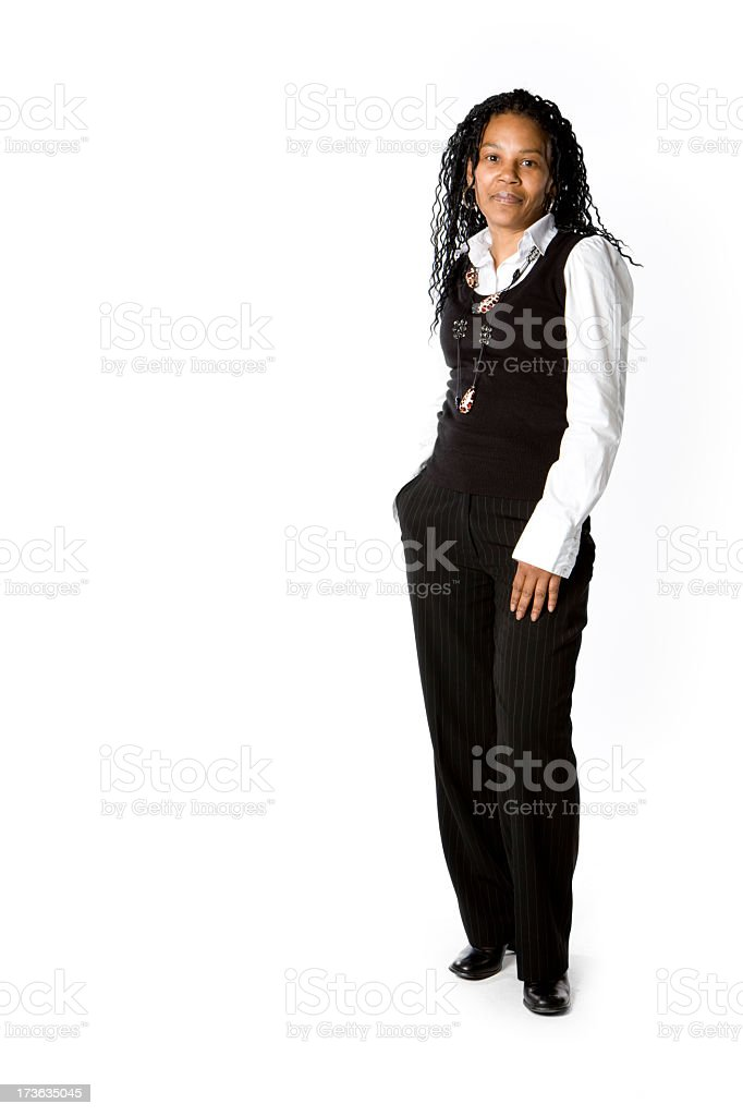 further education: confident professional royalty-free stock photo