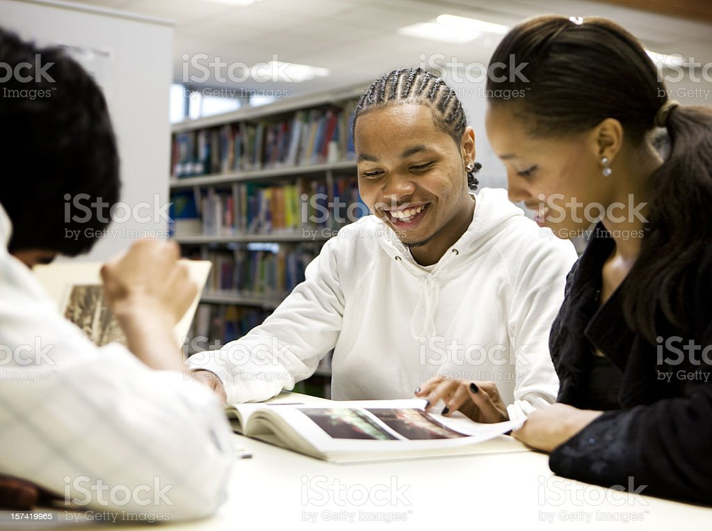 further education: library studies royalty-free stock photo