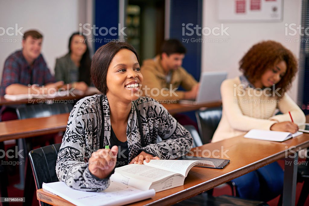 Furthering their education - Royalty-free 2015 Stock Photo