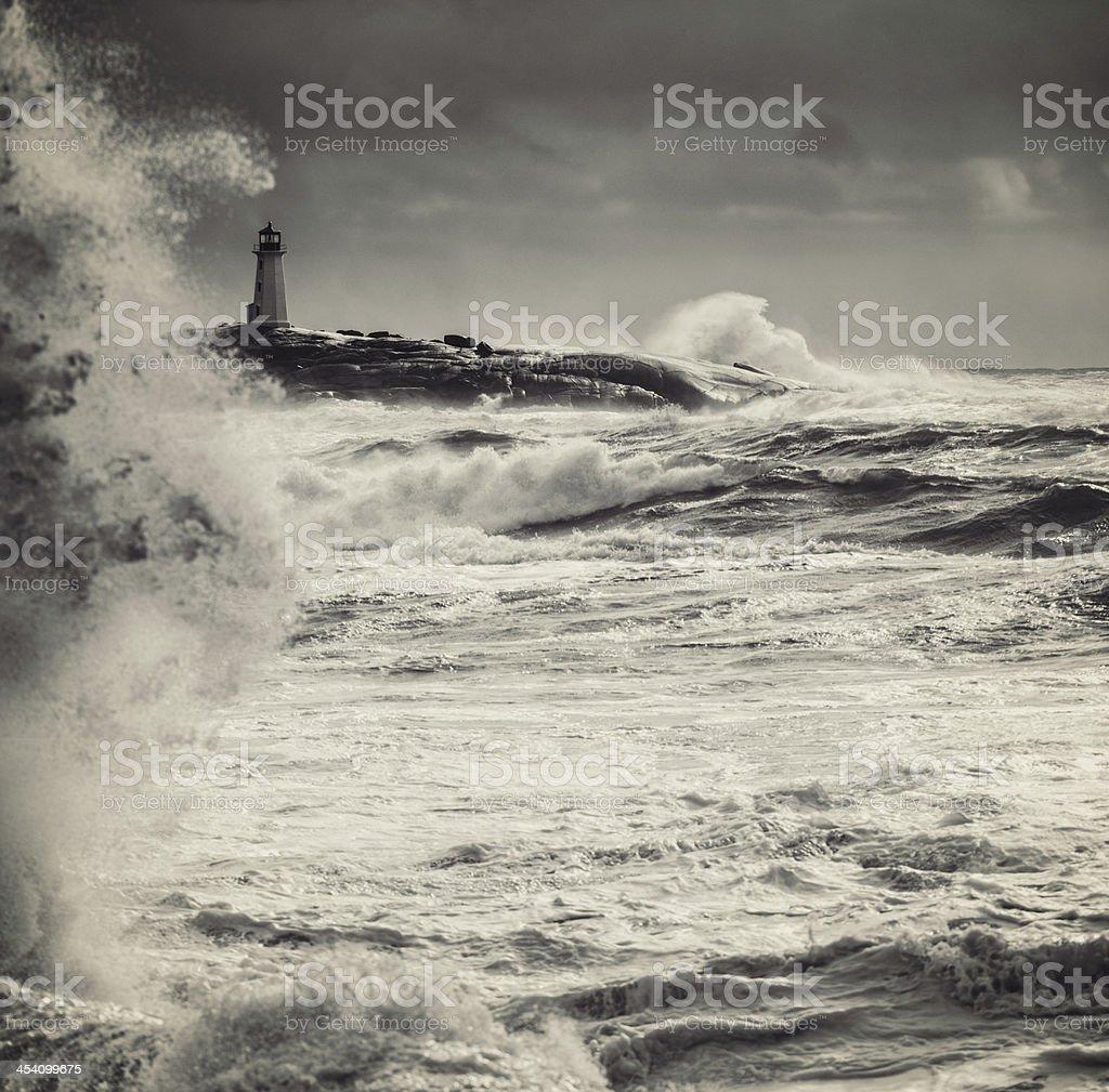 Fury of the Atlantic royalty-free stock photo