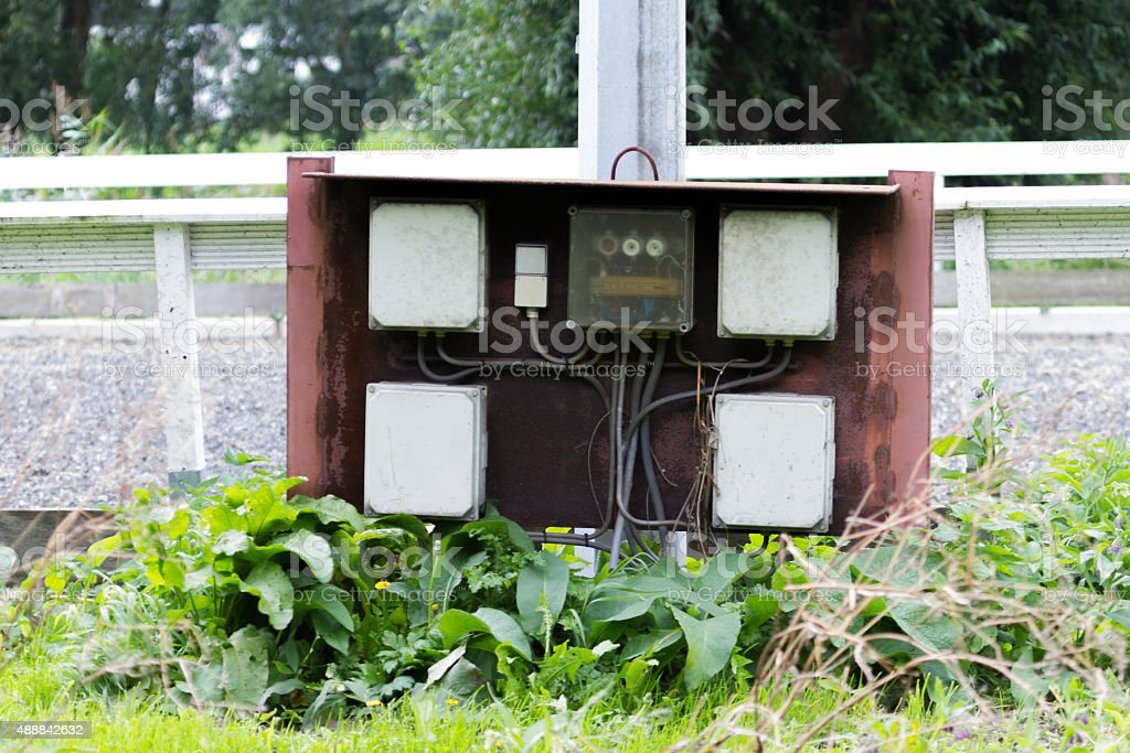 Fuse Box Outside