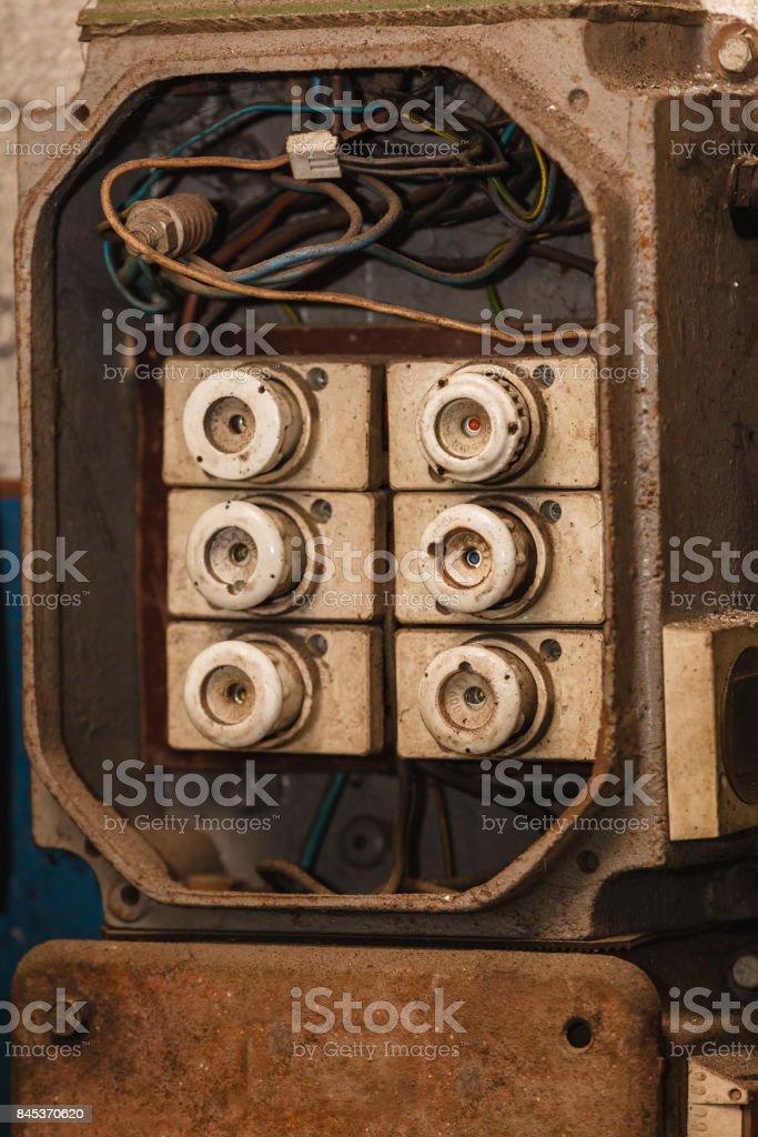 fuse box in garage fuse box in garage stock photo download image now istock  fuse box in garage stock photo