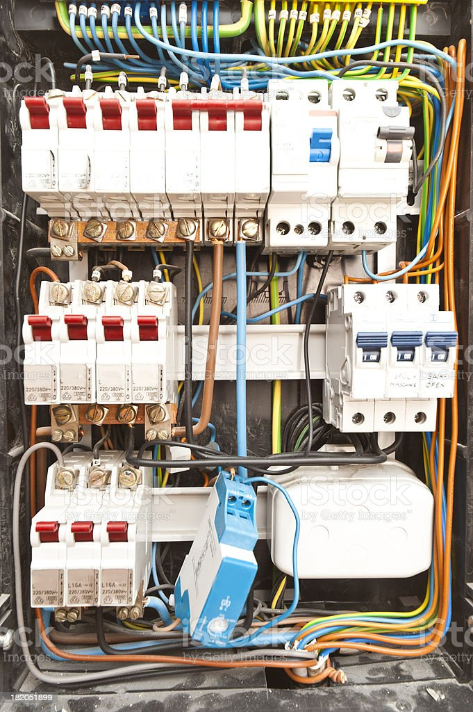 Fuse Box Stock Photo - Download Image Now - iStock In Fuse Box on 220 switch box, 220 volt wiring box, breaker box, 220 power box, 220 electrical box,