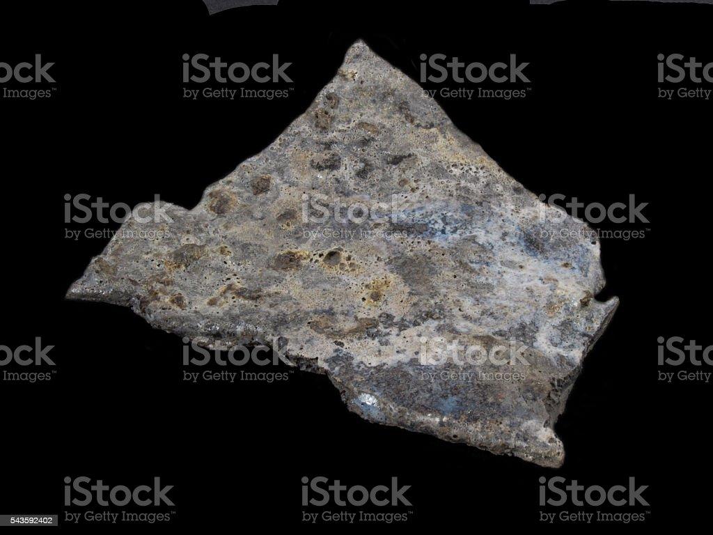 Fused alumina. stock photo