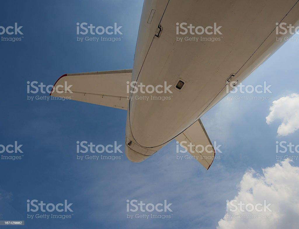 fuselage royalty-free stock photo