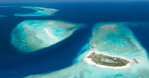 Fushifaru Lhaviyani Atoll, Maldives - foto stock