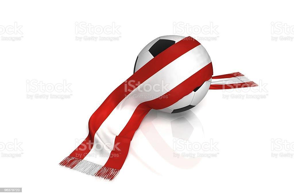Fussball Austria royalty-free stock photo
