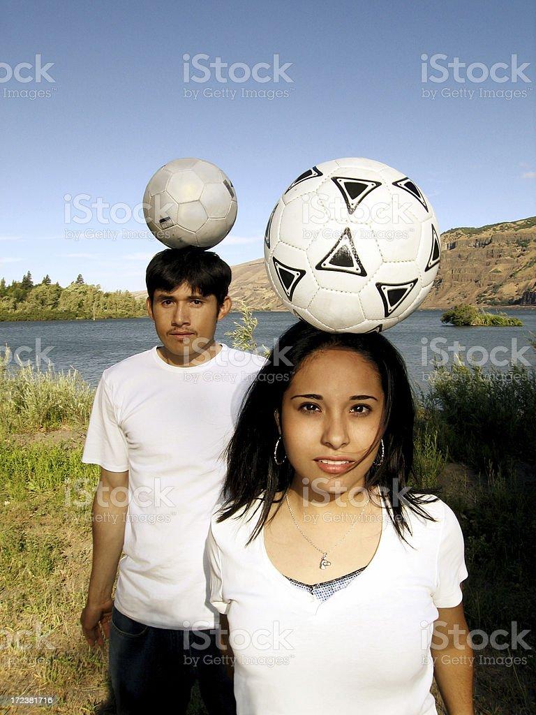 Futbol stock photo