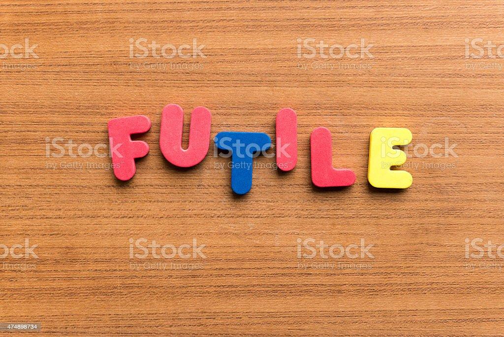 futile stock photo