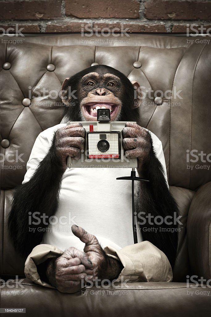 Futur photographer royalty-free stock photo