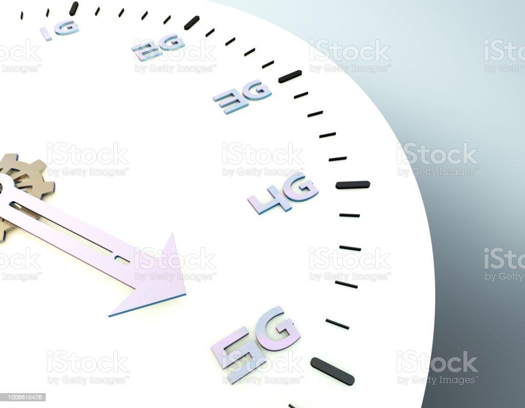 Future 5G à haut débit, réseaux de communication, technologies de l'avenir - Photo