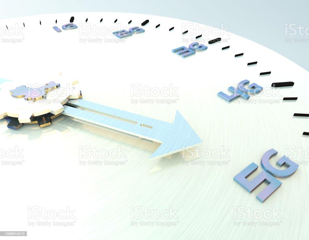 Future 5G à haut débit, réseaux de communication, technologie future, carte de la Chine - Photo