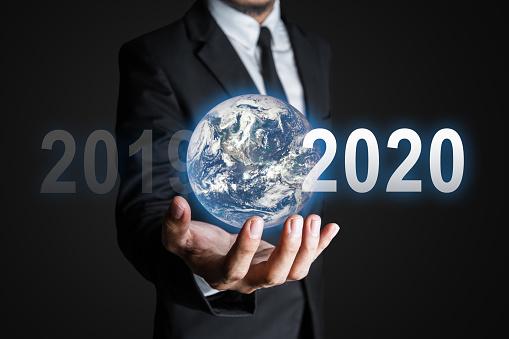 917493152 istock photo Future business world 1169141585