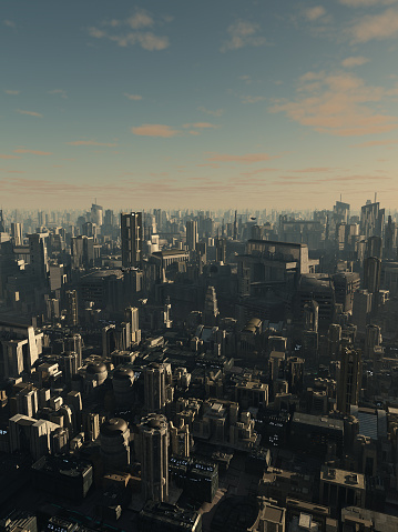 istock Future City in Late Afternoon Light 531302757