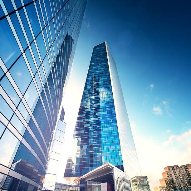 Future City - Paris la défence stock photo