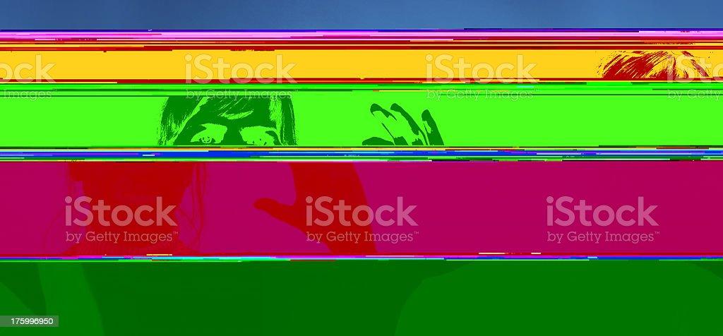 Future communication #1 stock photo