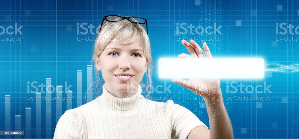 Future communication stock photo