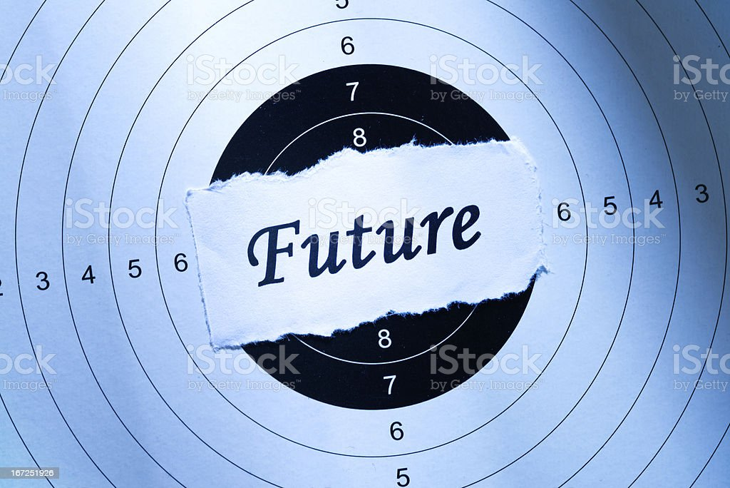Future concept royalty-free stock photo