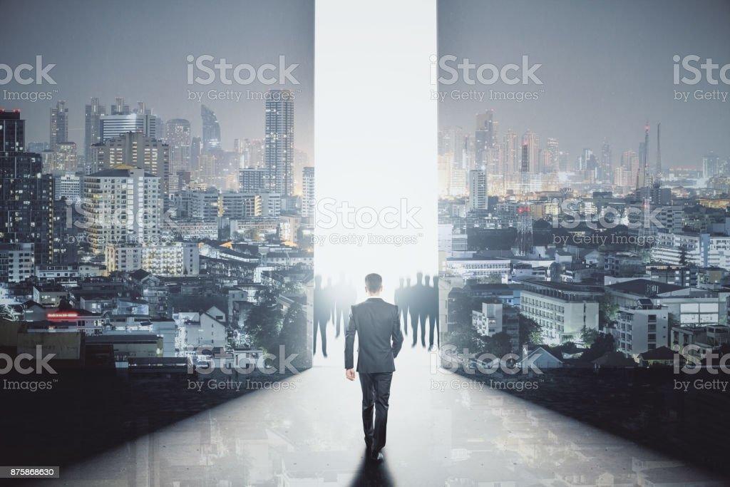Future concept stock photo