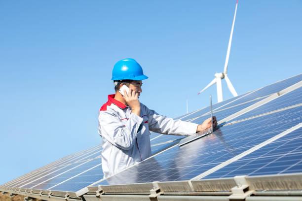 Zukünftige elektrische Produktion – Foto