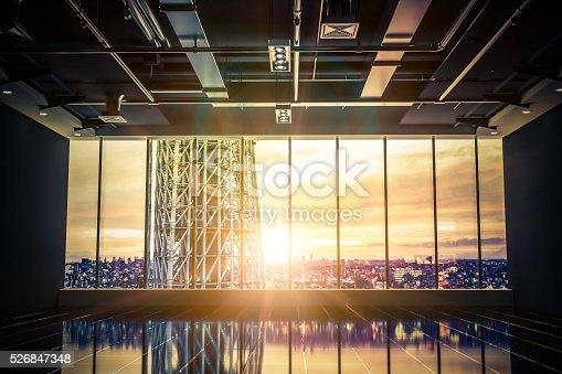 istock Future empty building 526847348