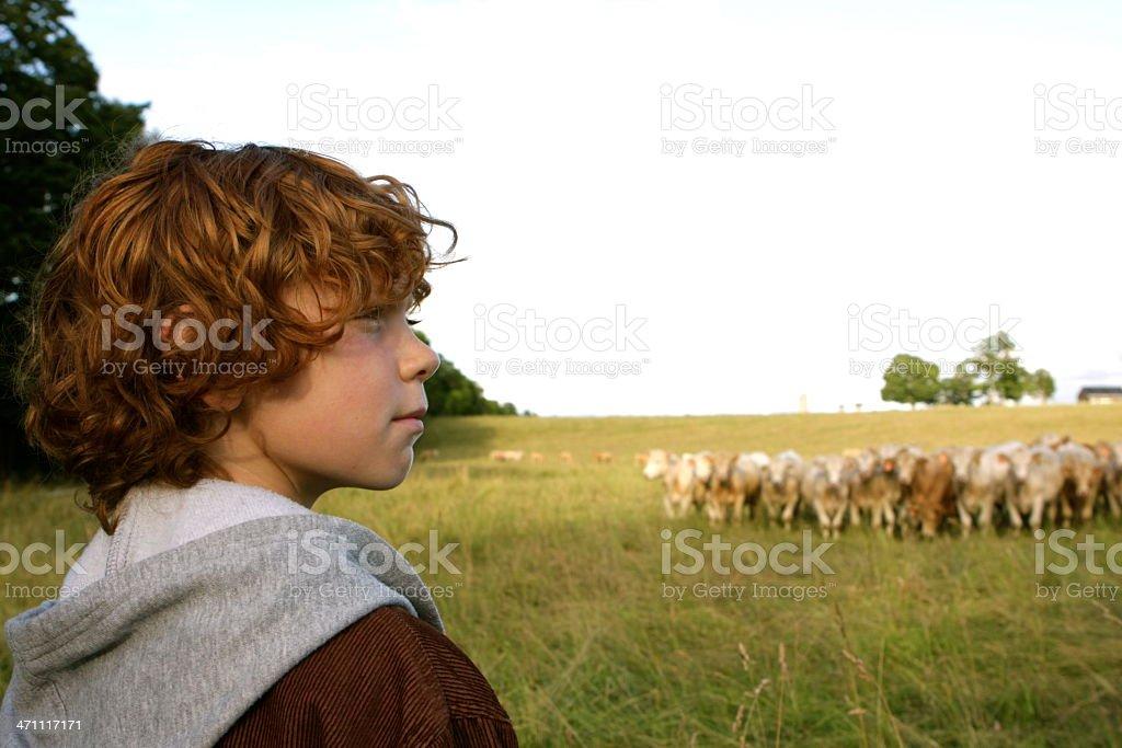 Future Farmer royalty-free stock photo