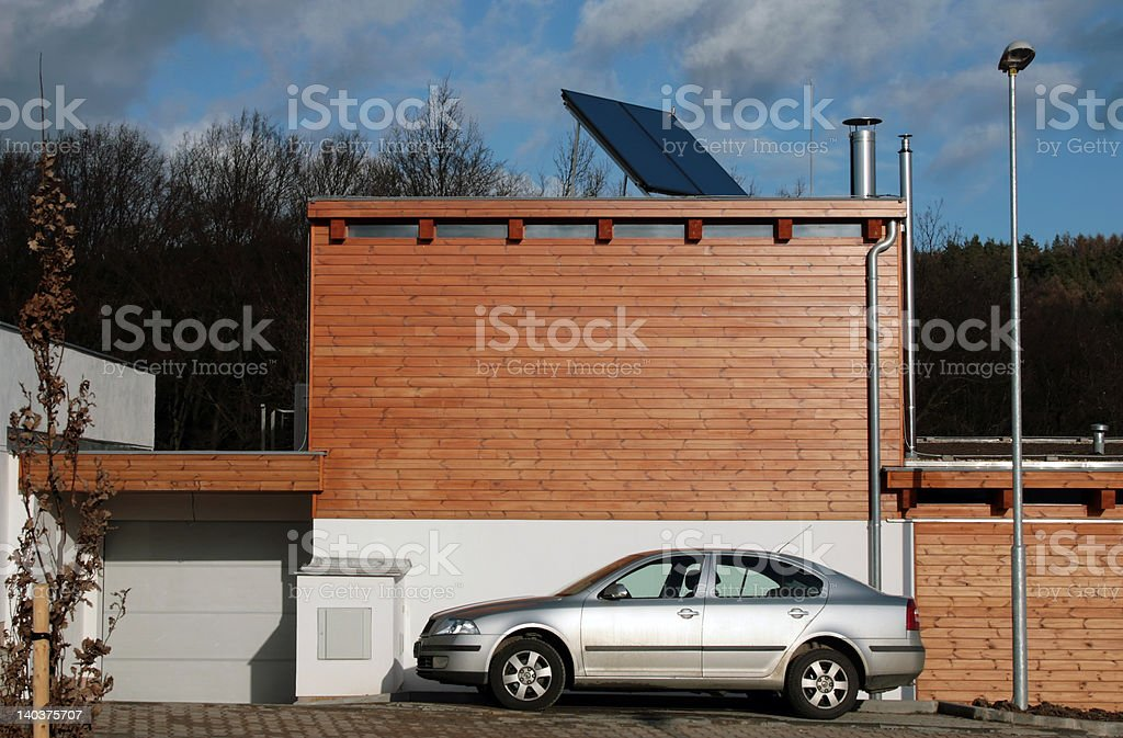 Future home, new constructed royalty-free stock photo