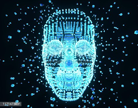 872670454istockphoto Future human technology, digital information technology, artificial intelligence and core 1171473631