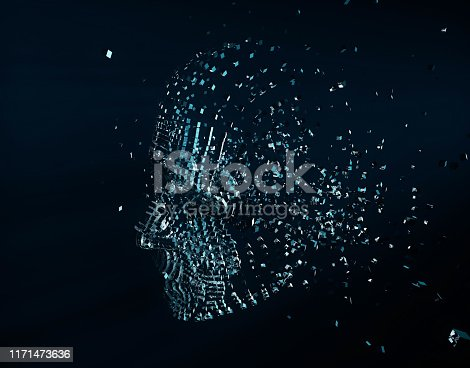 872670454istockphoto Future human technology, digital information technology, artificial intelligence and core 1171473636