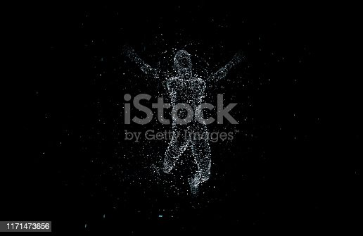 872670454istockphoto Future human technology, digital information technology, artificial intelligence and core 1171473656