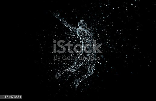 872670454istockphoto Future human technology, digital information technology, artificial intelligence and core 1171473671