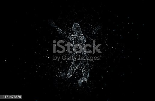 872670454istockphoto Future human technology, digital information technology, artificial intelligence and core 1171473679