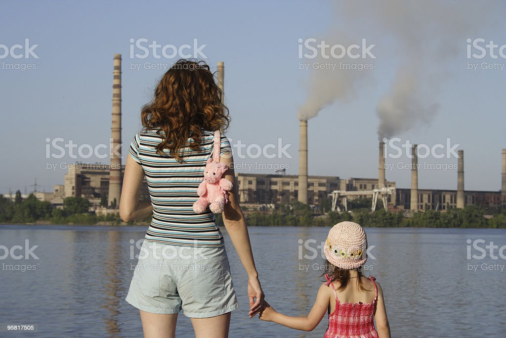 future is in your hands royalty-free stock photo
